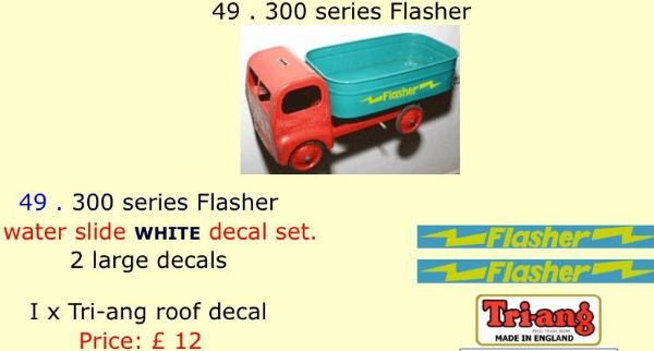 49 . Tri-ang 300 series Flasher